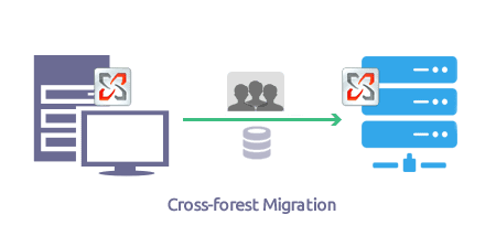 Cross-forest and cross-domain scenarios