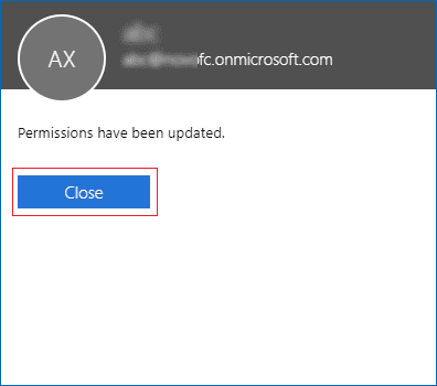 Office 365 Full Access Permission