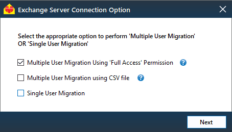 multiple user migration