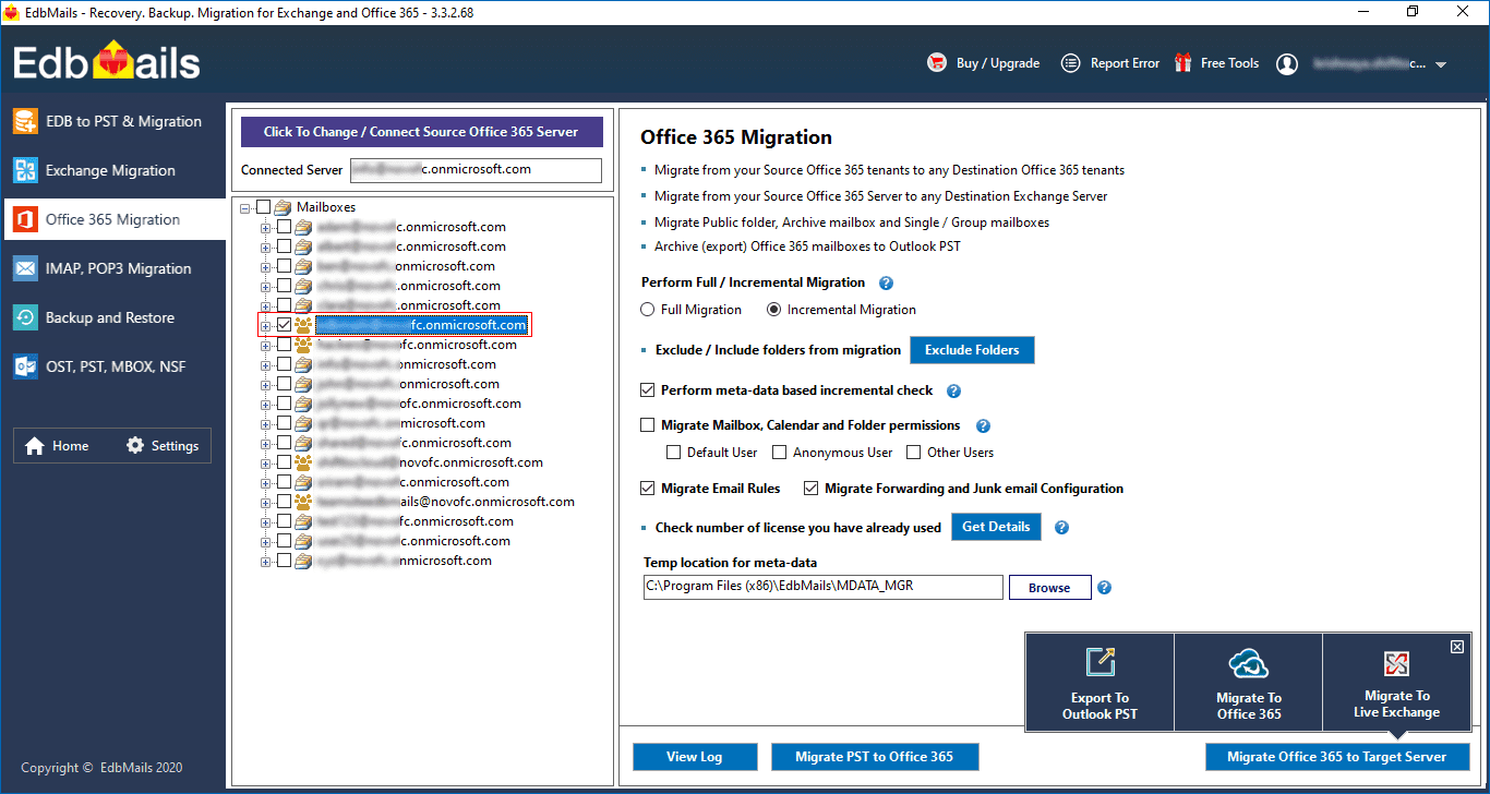 Office 365 Group Migration