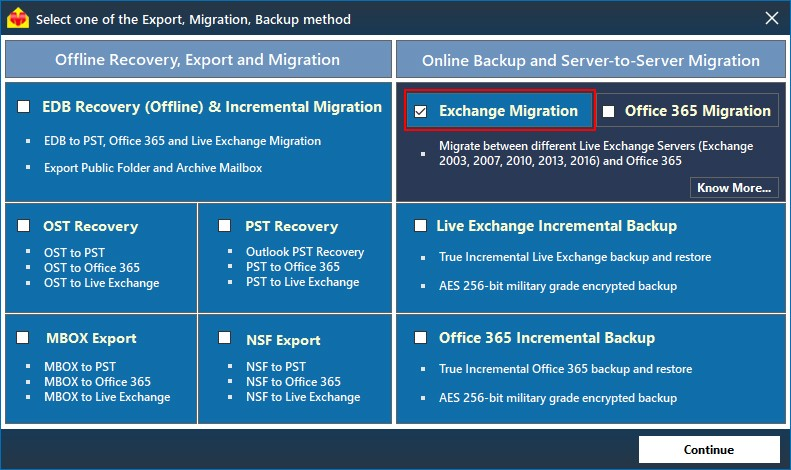 Migrate from Exchange 2010 to 2016