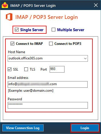 imap-connection