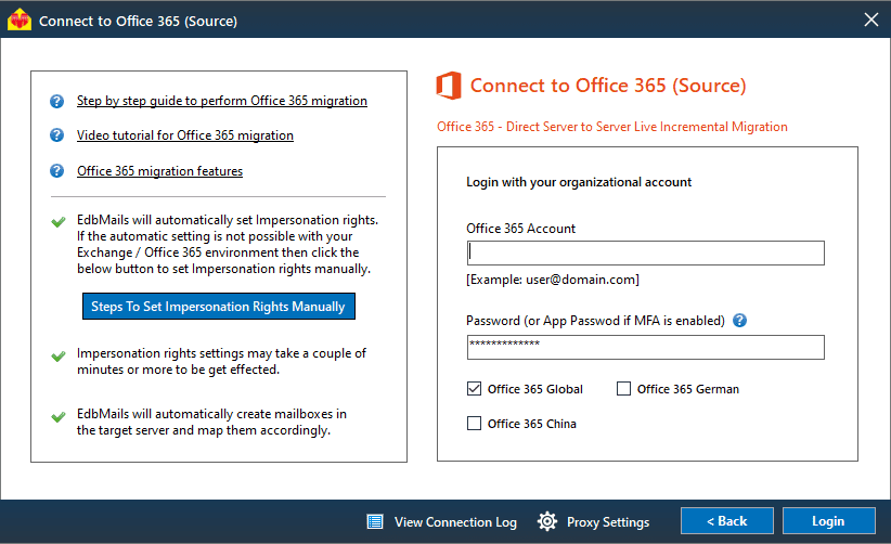 source office 365 login