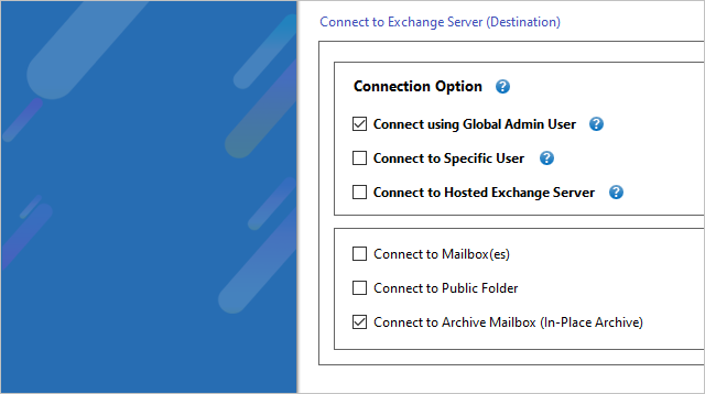 Office 365 Archive Mailbox to Exchange Migration