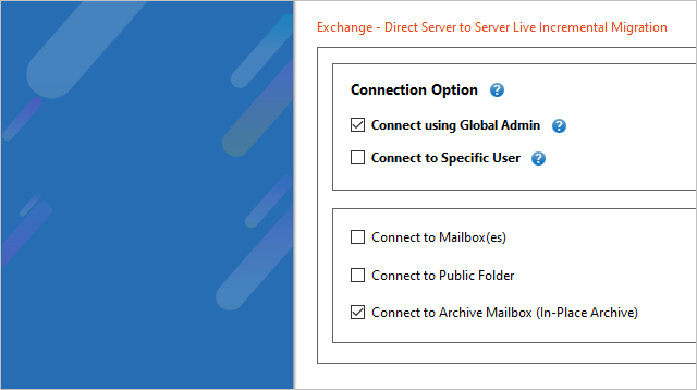 Exchange Archive Mailbox to Exchange Migration