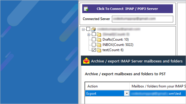 IMAP Migration to PST