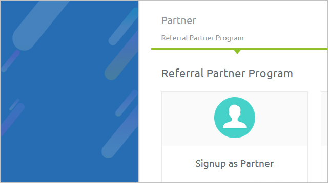 Sign Up as Partner
