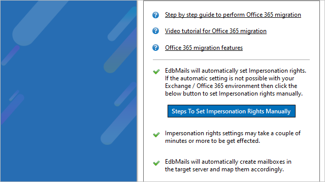 Office 365 - Impersonation Rights