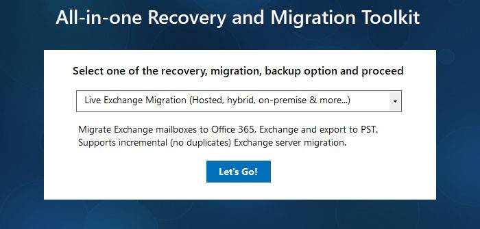 Select Office 365 Migration