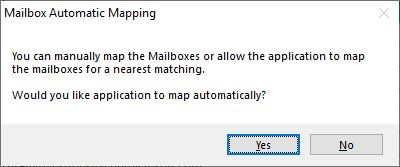 Automatic Mailbox Mapping