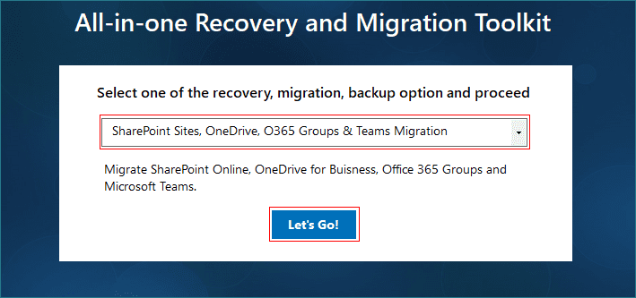 SharePoint Sites, OneDrive, O365 Groups and Teams Migration